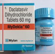 迈兰生产的达卡他韦(MyDacla)推荐用法和剂量是怎样的?