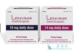 乐伐替尼(lenvatinib)对腺样囊性癌具有抗肿瘤活性