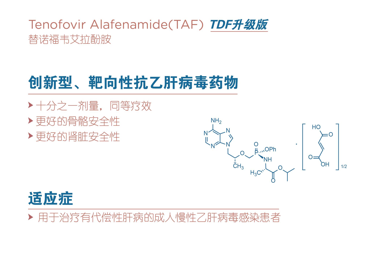 乙肝抗病毒药TAF