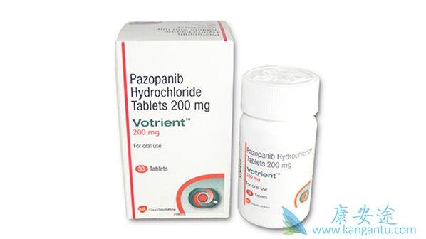 帕唑帕尼(PAZOPANIB)/VOTRIENT