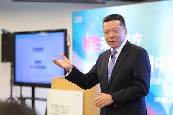 IBM大中华区董事长陈黎明